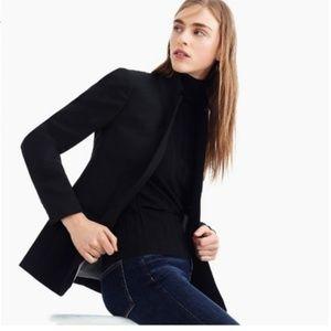 J. Crew Regent Blazer in Wool Flannel Black